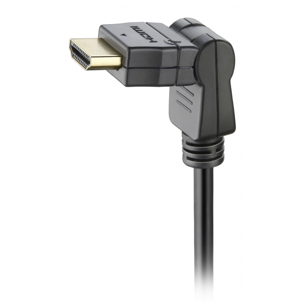Cabo HDMI Áudio Vídeo 1,80mts Conector 360º Elgin