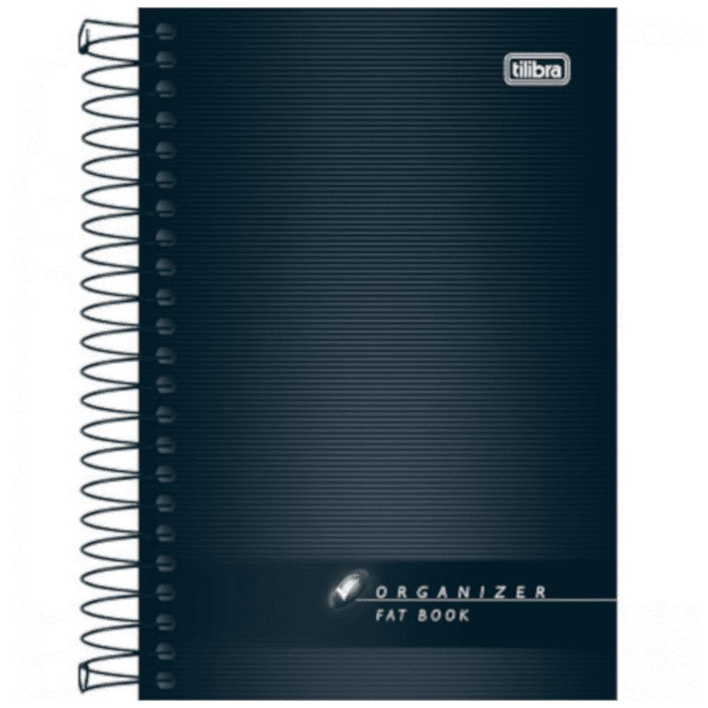 Caderneta Tilibra Espiral Flexível 200 Folhas Fat Book Organizer