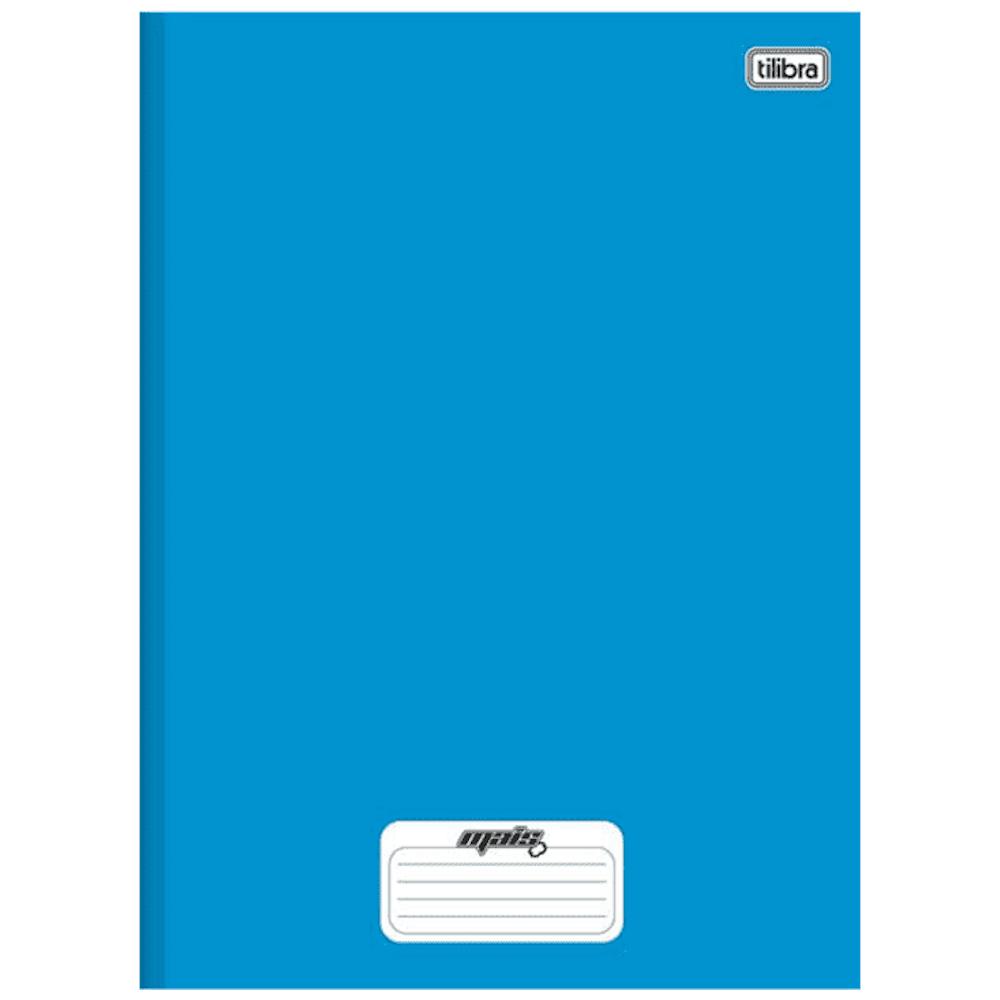 Caderno 1/4 Tilibra Brochura Capa Dura 96fls D+ Azul