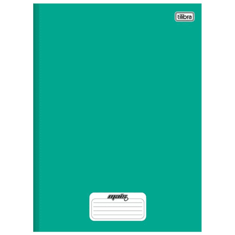 Caderno 1/4 Tilibra Brochura Capa Dura 96fls D+ Verde