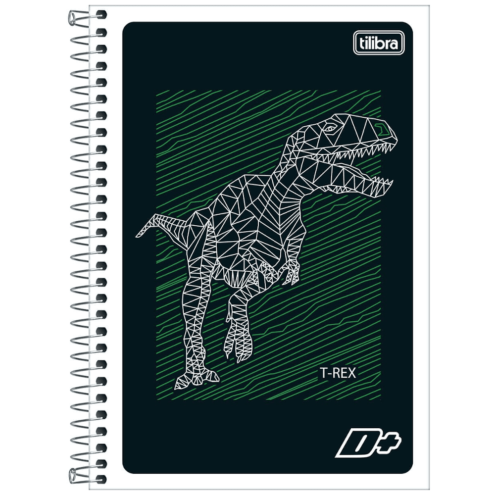Caderno 1/4 Tilibra Espiral Flex 96fls D+ Unissex