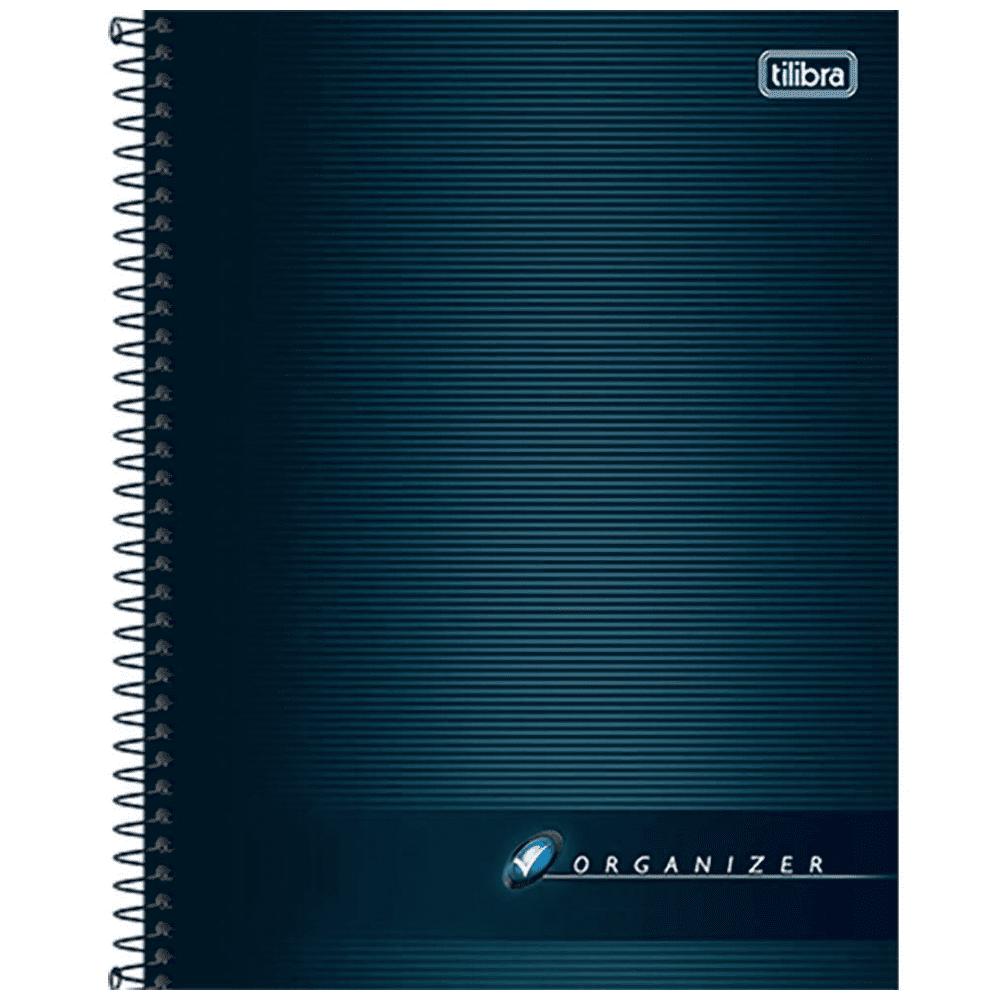Caderno Executivo Tilibra Espiral Capa Dura 80 Folhas Organizer