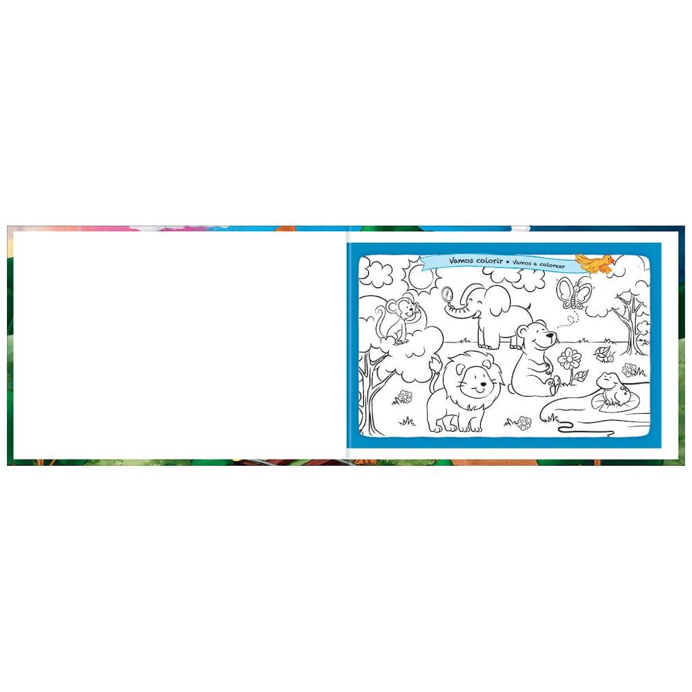Caderno Desenho Tilibra Brochura Capa Dura 40 Folhas Académie Kids