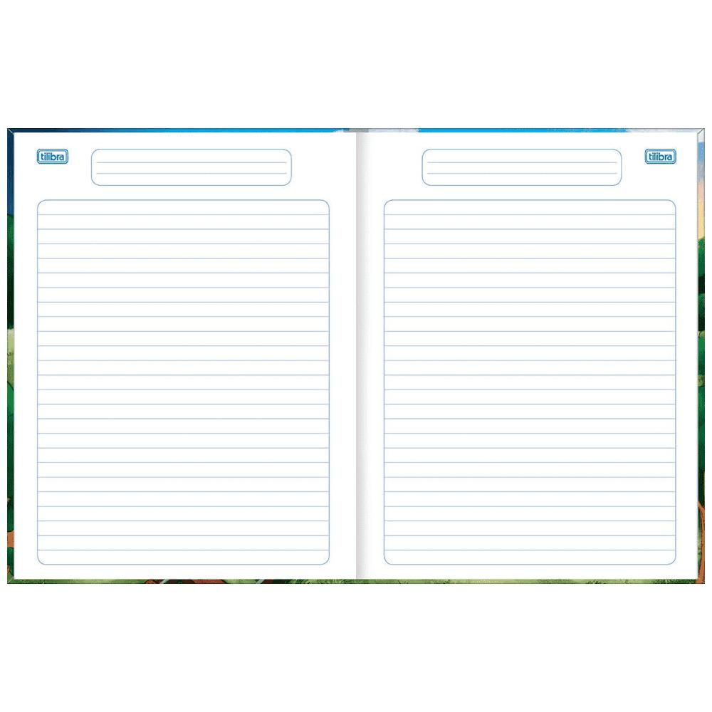 Caderno De Linguagem Tilibra Brochura Capa Dura 40 Folhas Académie Kids