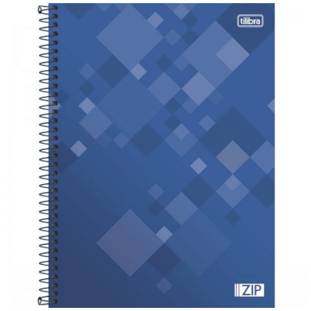 Caderno Universitário Tilibra Espiral Capa Dura 10 Matérias 200 Folhas Zip