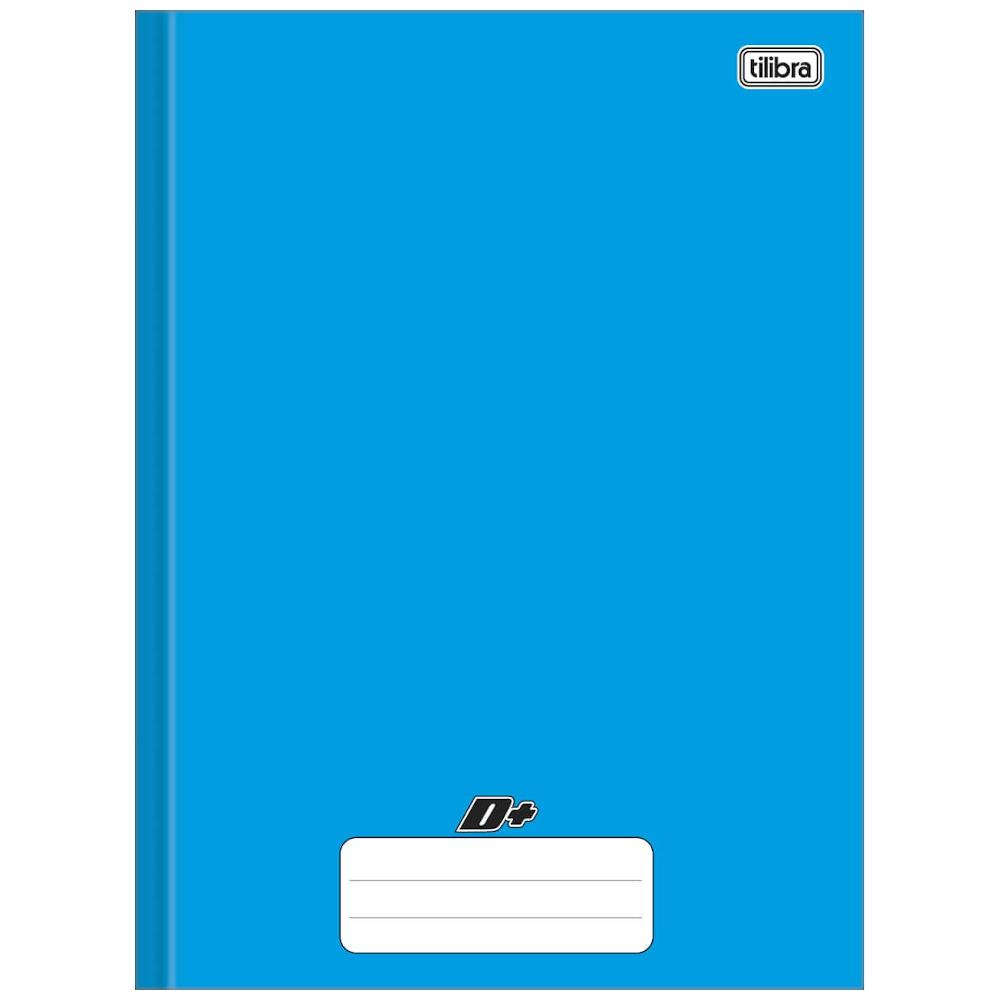 Caderno Universitário Tilibra Brochura Capa Dura 96 Folhas Azul