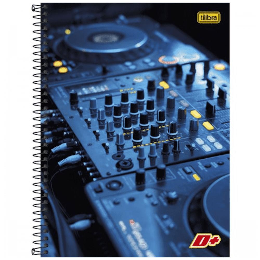 Caderno Universitário Tilibra Espiral Capa Dura 16 Matérias 320 folhas D+
