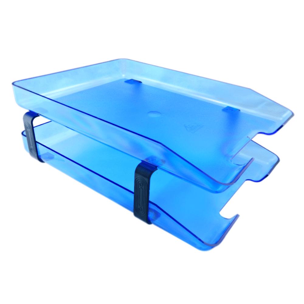 Caixa de Correspondência Dupla Azul Acrimet 943.2