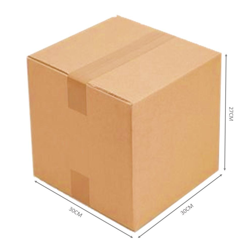 Caixa De Papelão C30cm X L30cm X A27cm C/50unds