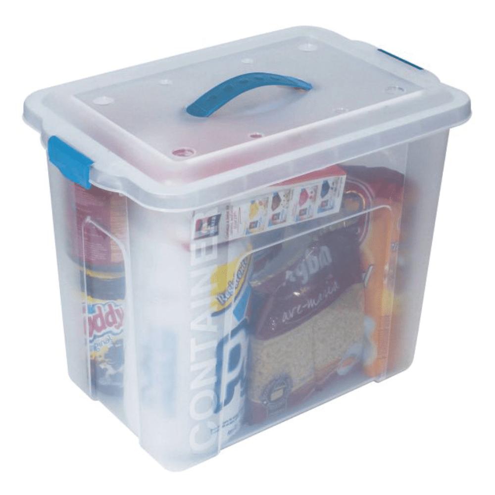 Caixa Organizadora São Bernardo OR-11 Incolor 23,5 Litros