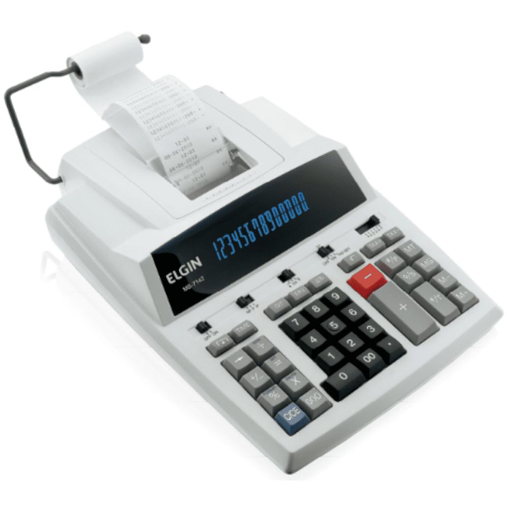 Calculadora de Mesa Elgin 14 Dígitos MB7142 Eletrônica