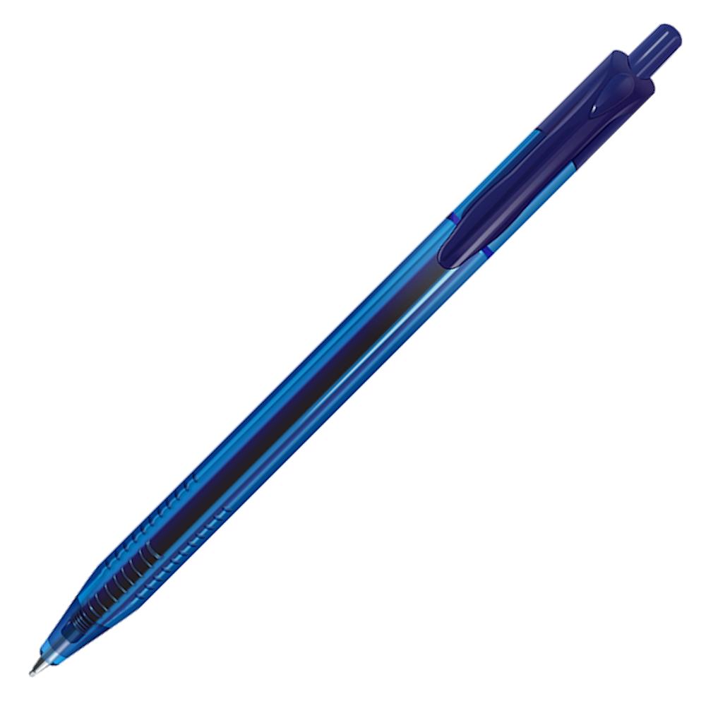 Caneta Esferográfica CIS Trik Retrátil 1.0MM Azul