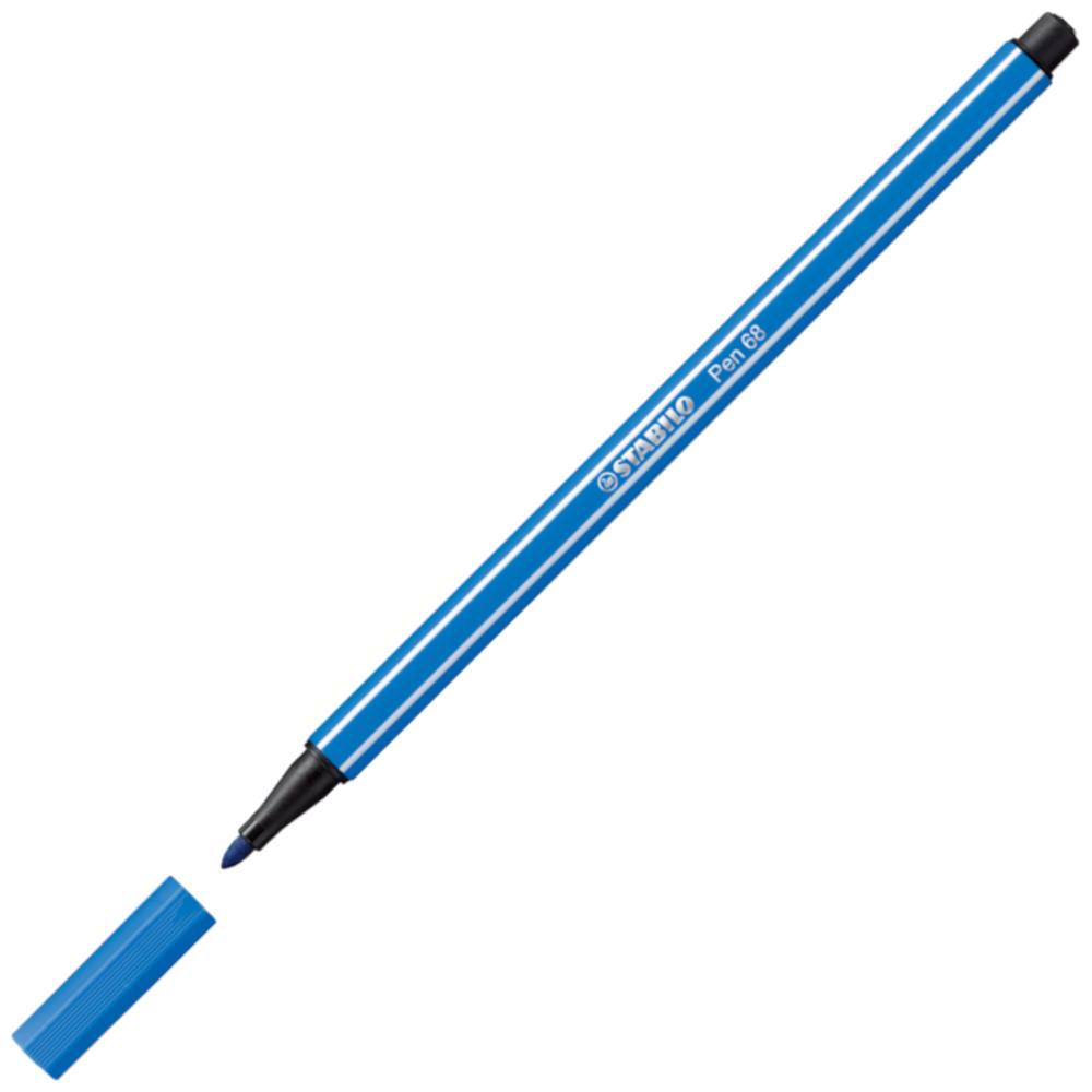 Caneta Hidrográfica Stabilo Pen 68/41 Azul