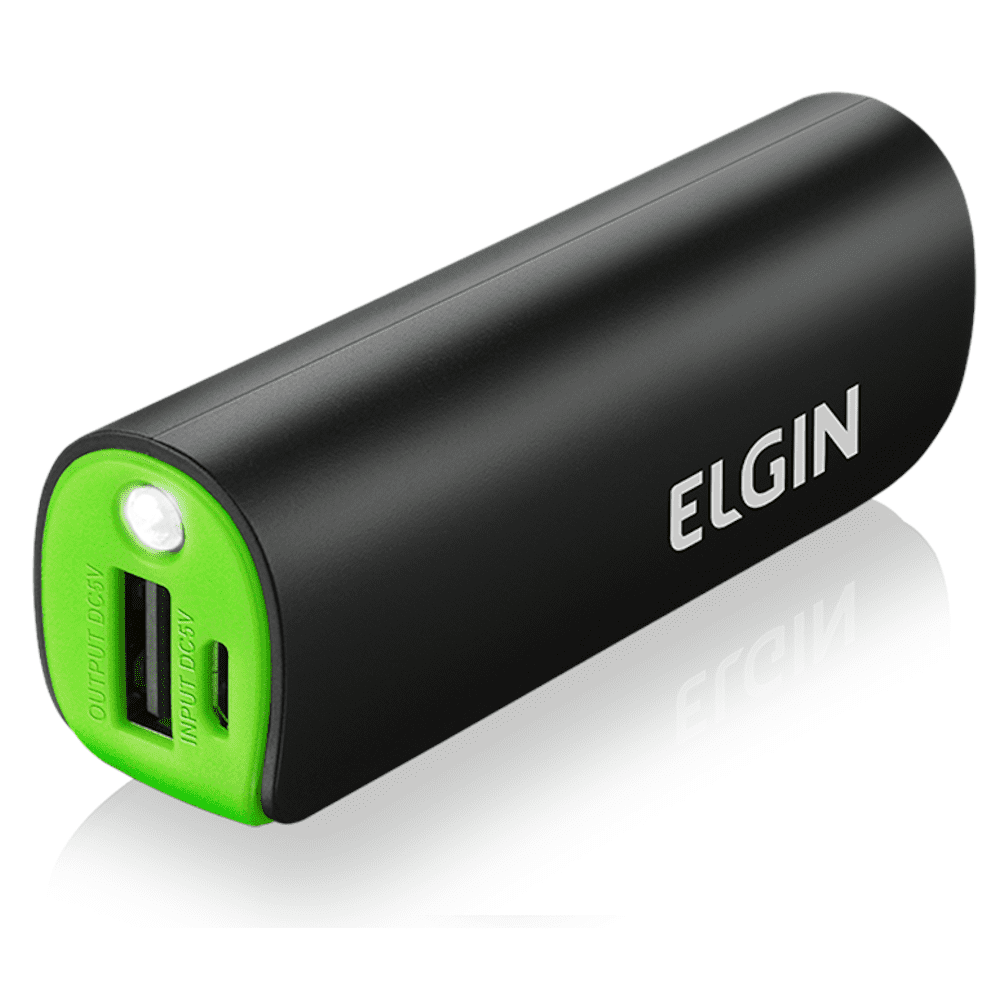 Carregador USB Elgin Portátil Power Bank CP2600
