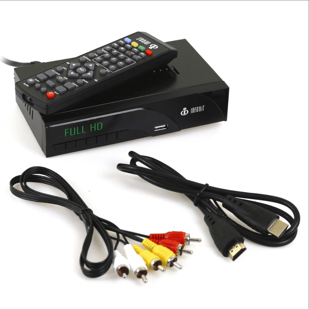 Conversor Digital TV Visor Led HDMI USB Infokit