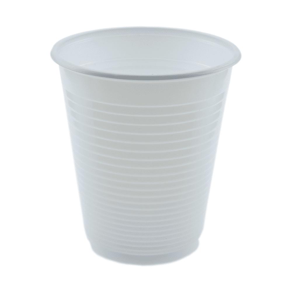 Copo Plástico Descartável 180ml Kerocopo 100un Branco