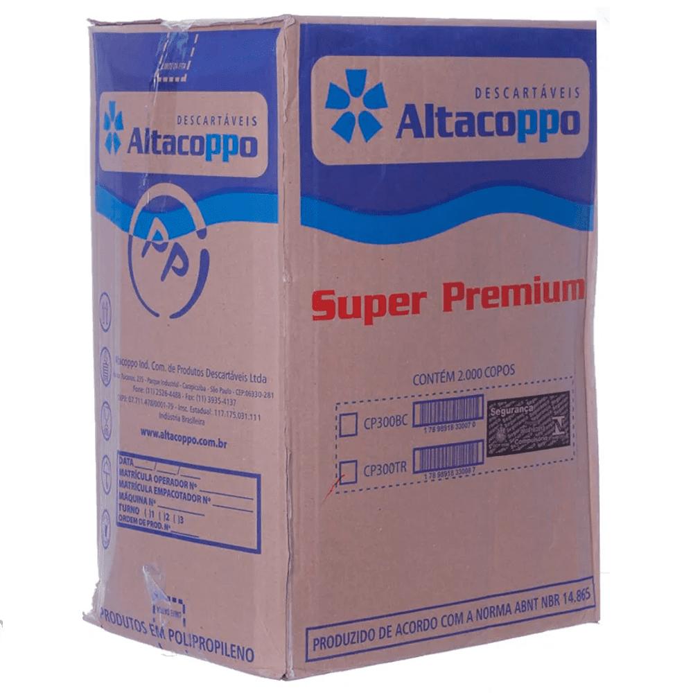 Copo Plástico Descartável 300ml Altacoppo 2000un Branco