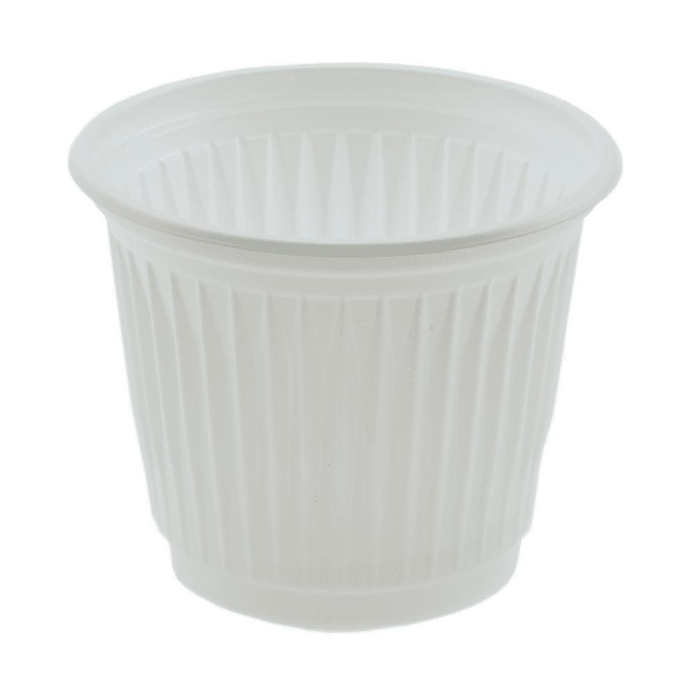 Copo Plástico Descartável 50ml Kerocopo 100un Branco
