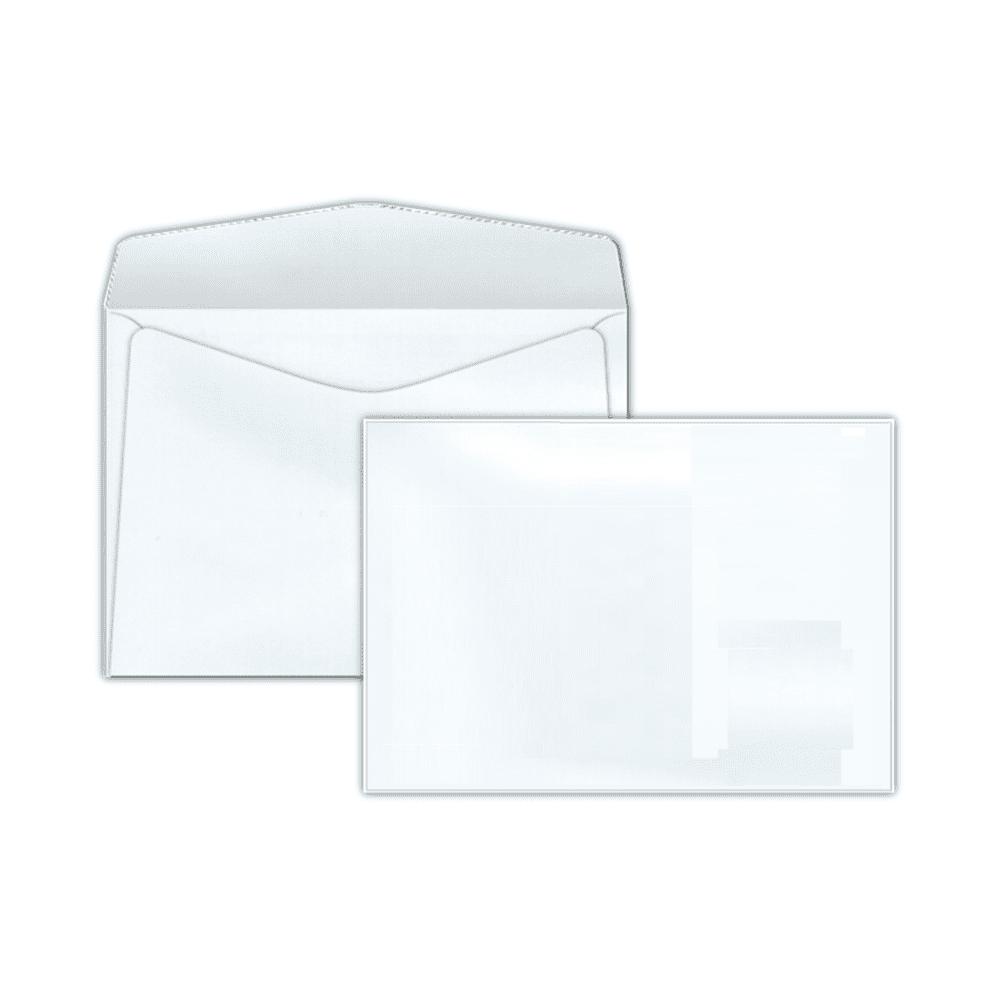 Envelope Carta 114x162mm branco 75g s/rpc c/10un COF 130 Scrity