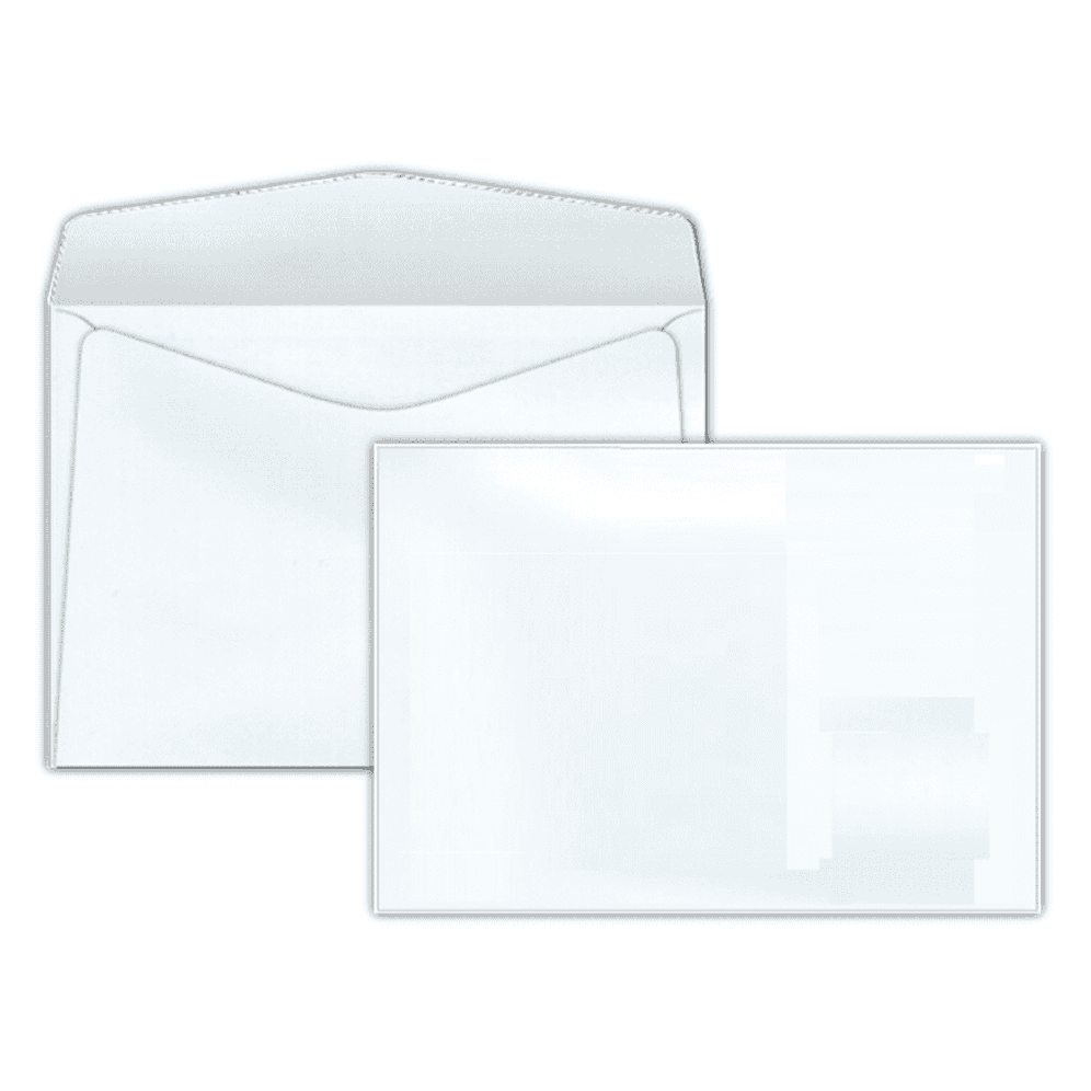 Envelope Carta Scrity 114x162mm Branco 75g S/RPC 10un COF 130