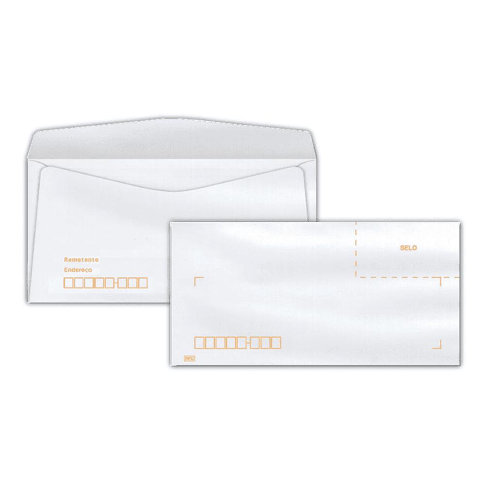 Envelope Ofício Scrity 114x229mm Branco 75g C/RPC 10un COF142