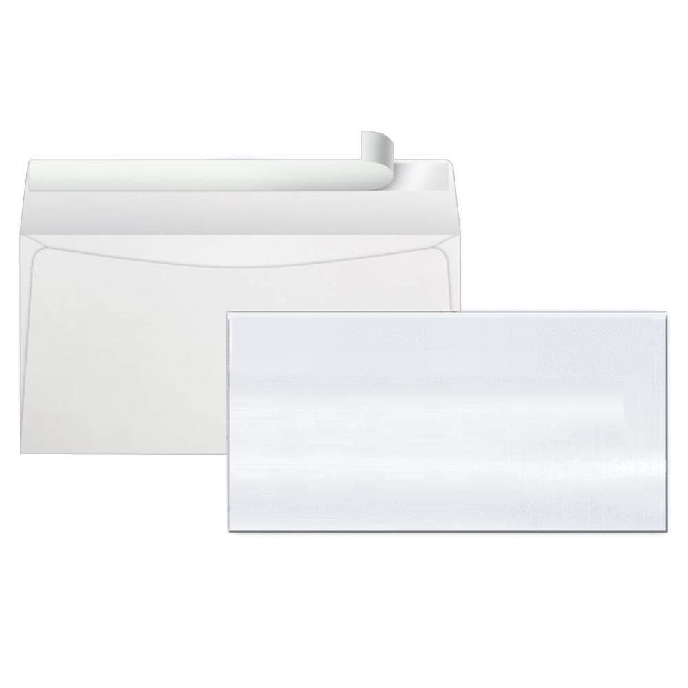Envelope Ofício Scrity 114x229mm Branco 75g S/RPC Aba Adesiva 1000un COF640