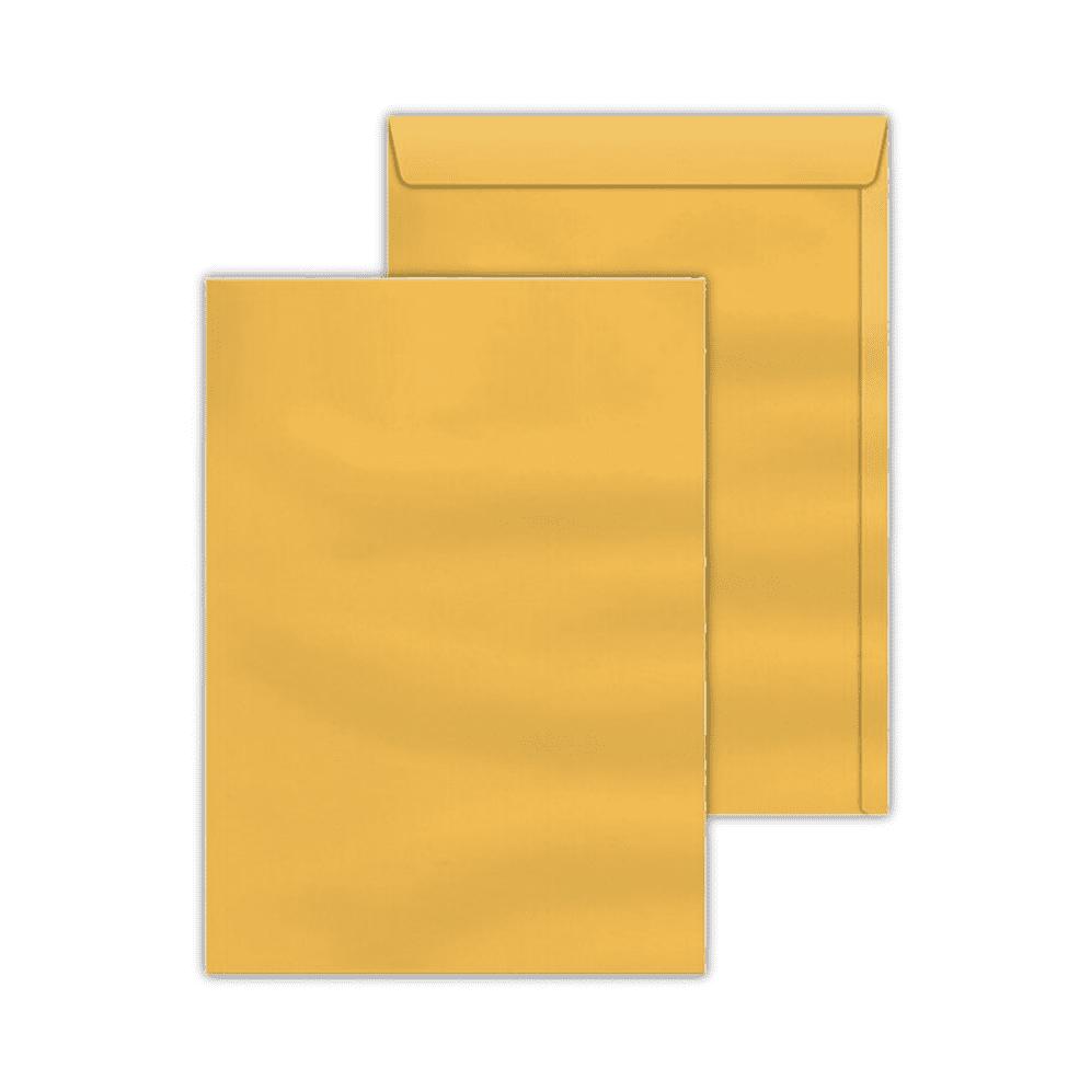 Envelope Saco 0,80x115mm Ouro 80g c/250un SKO 011 Scrity