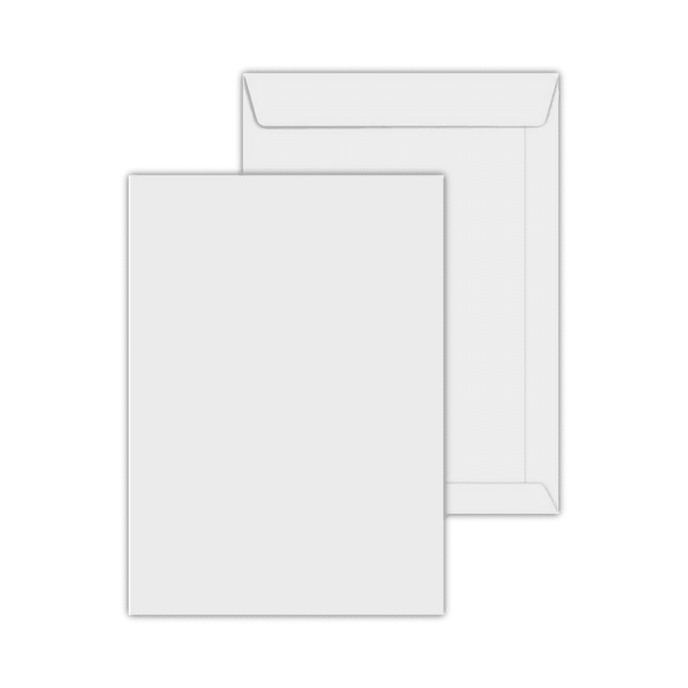 Envelope Saco 110x170mm Branco 90g c/250un SOF 017 Scrity