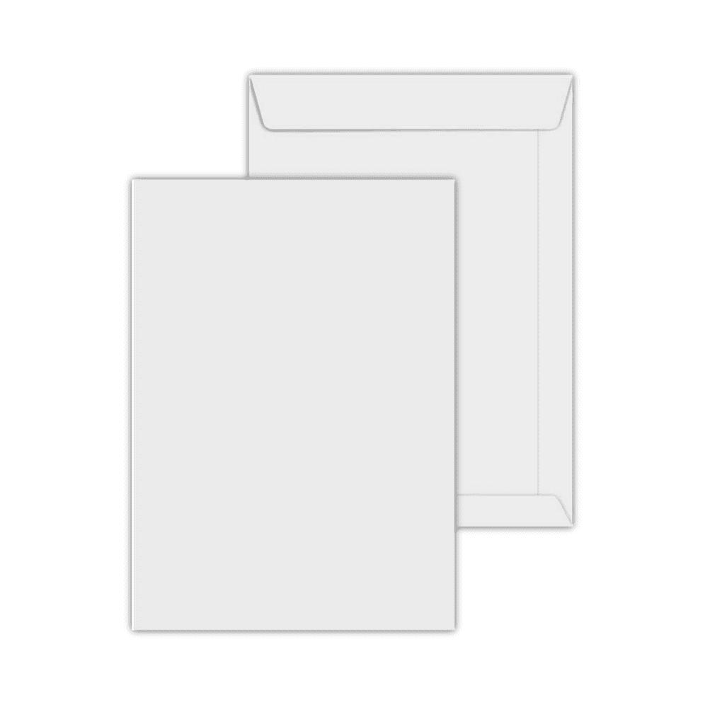 Envelope Saco 250x353mm Branco 90g c/100un SOF 335 Scrity
