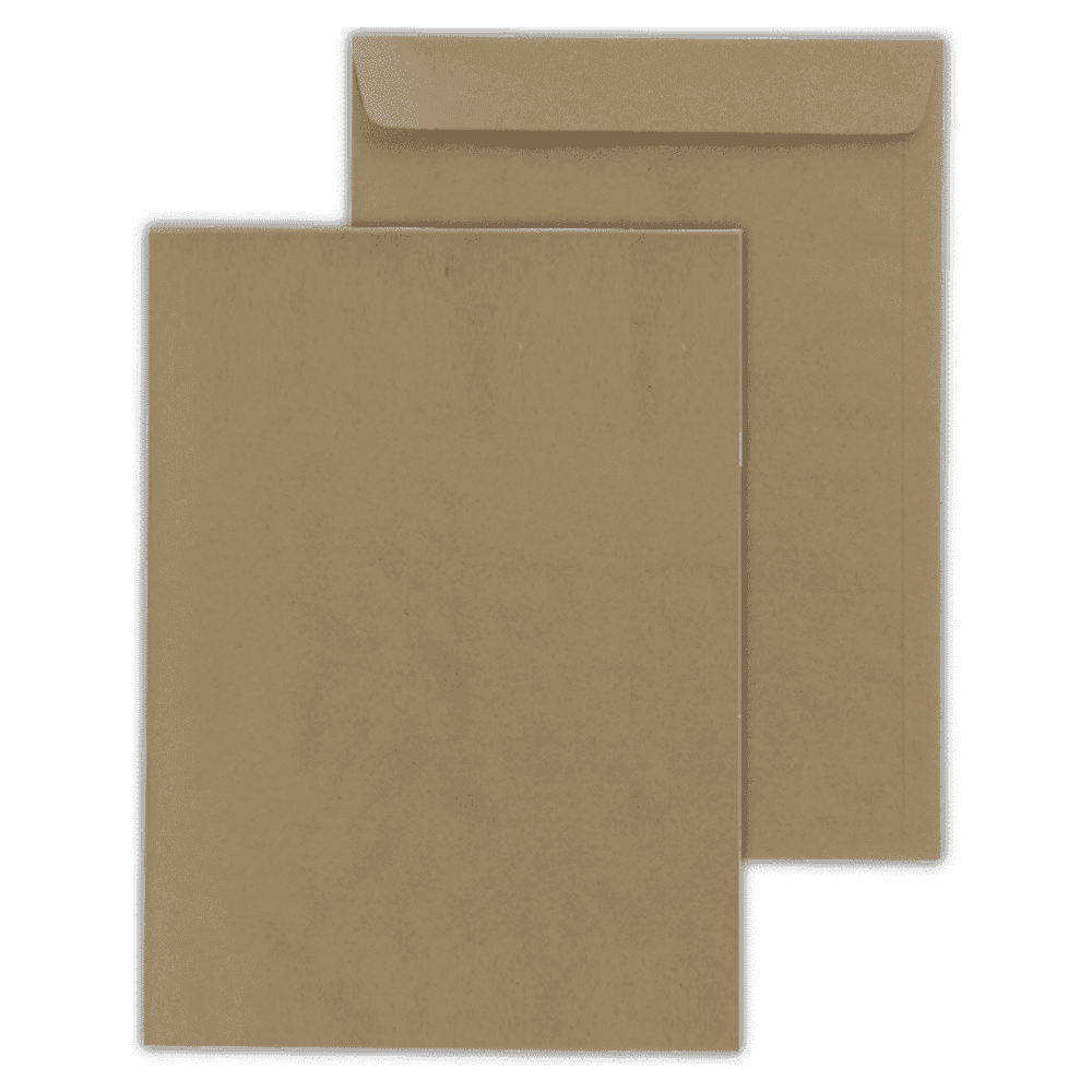 Envelope Saco Scrity 162x229mm Kraft 80g 100un SKN323
