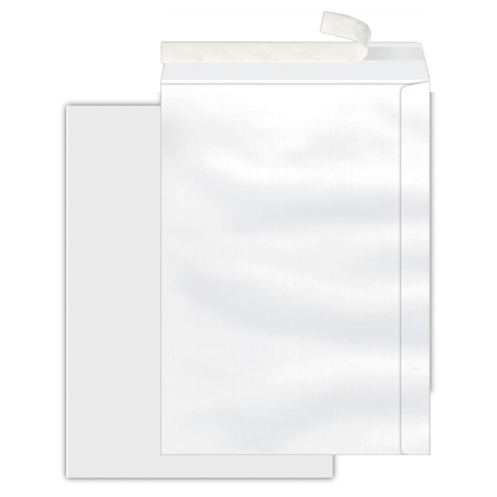 Envelope Saco Scrity 176x250mm Branco 90g 100un Autocolante SOF625