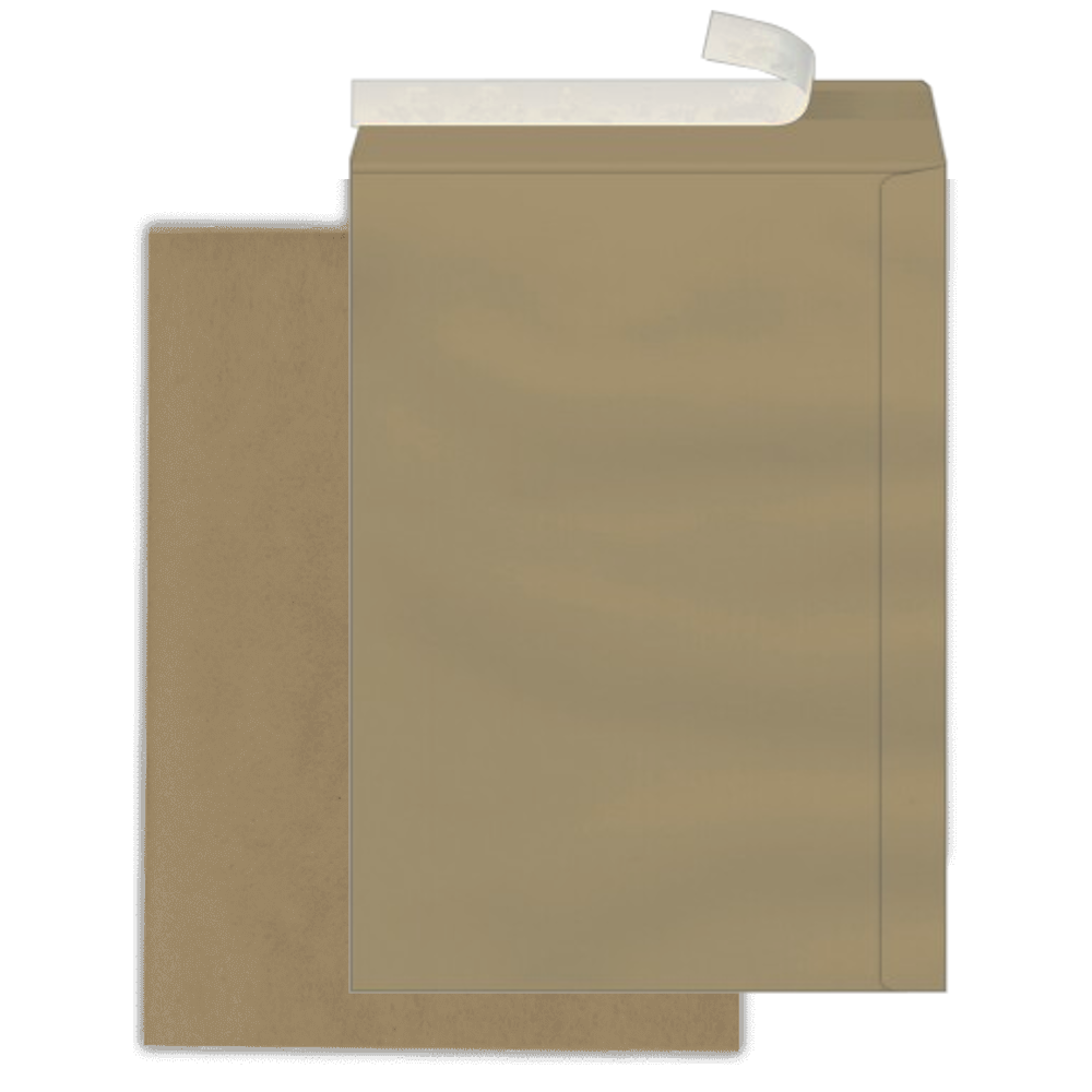 Envelope Saco Scrity 176x250mm Kraft 80g 100un Autocolante SKN625