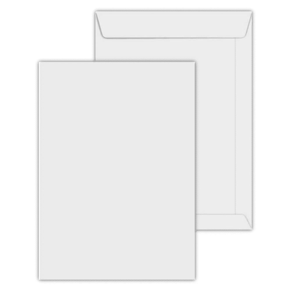 Envelope Saco Scrity 240x340mm Branco 90g 250un SOF034