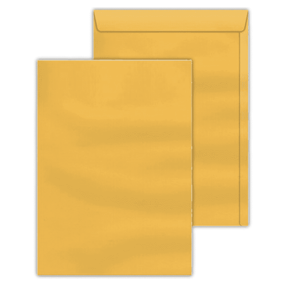 Envelope Saco Scrity 310x410mm Ouro 80g 100un SKO341