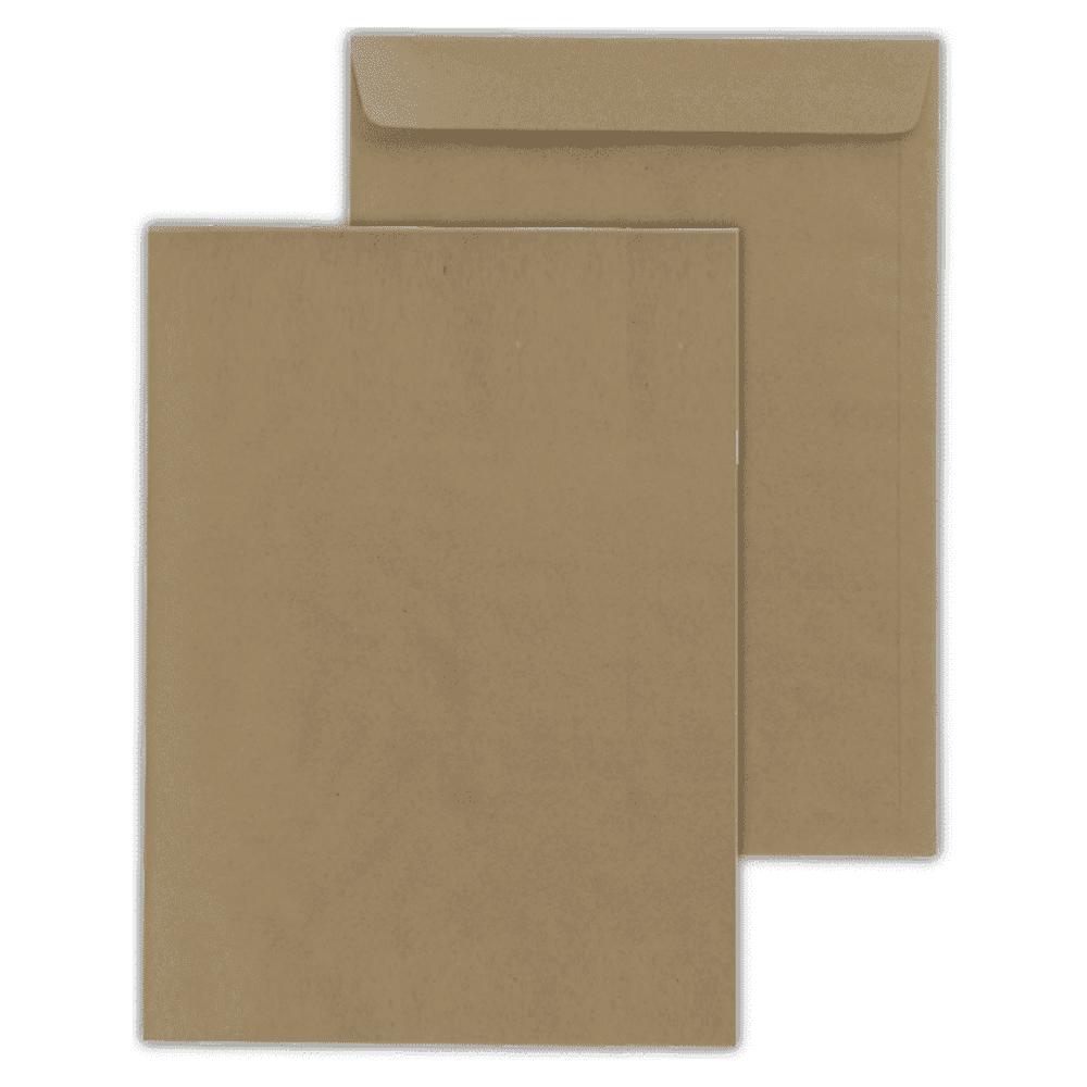 Envelope Saco Scrity 370x470mm kraft 80g 100un SKN347