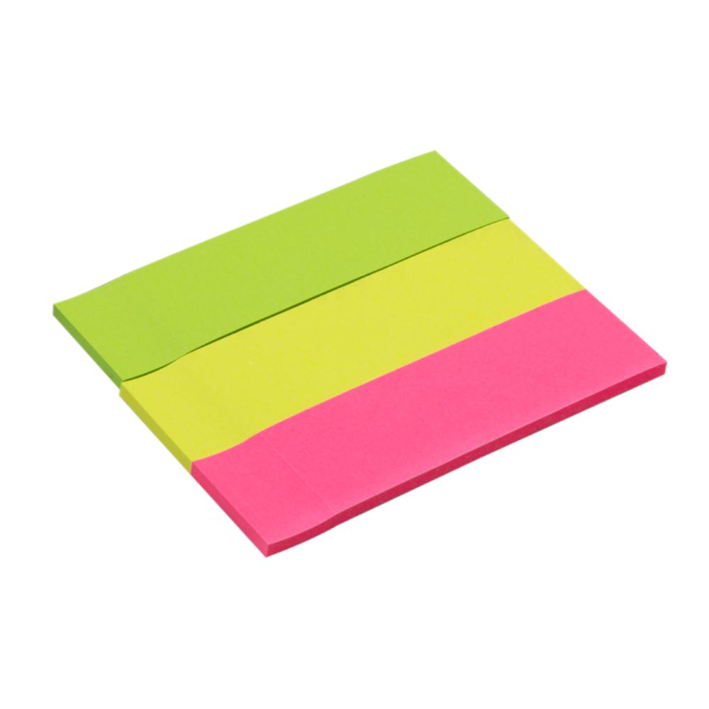 Etiqueta Maxprint Neon com 3 Blocos 25 X 88mm 74491-0