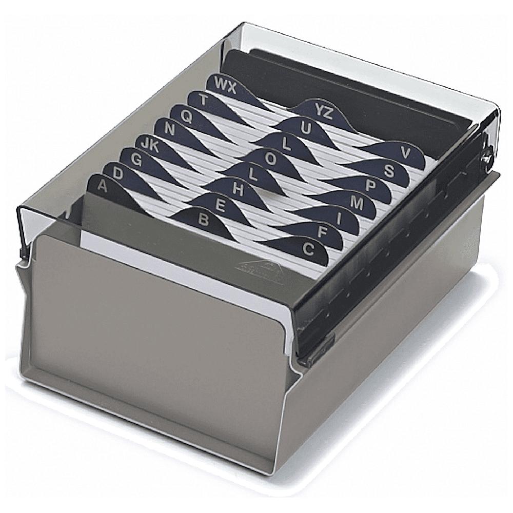 Fichário Base Metal/Acrílico Acrimet 4x6 Com Índice 922.3