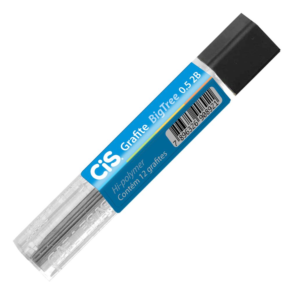 Grafite 0.5mm 2B CIS Tubo 12 Minas