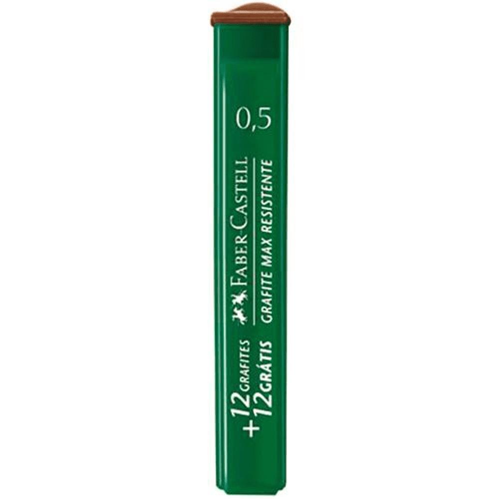 Grafite 0,5mm B Faber Castell 12 Tubos