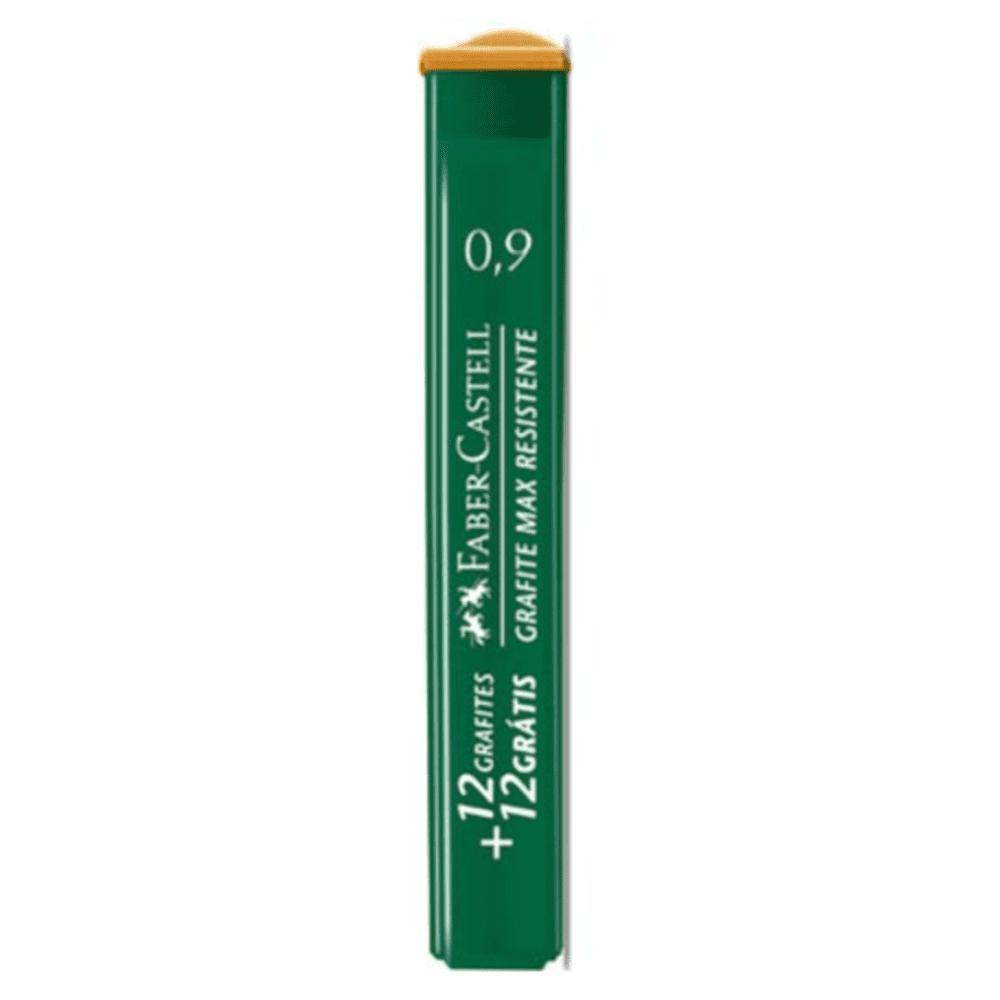 Grafite 0,9mm HB  Faber Castell 12 Tubos