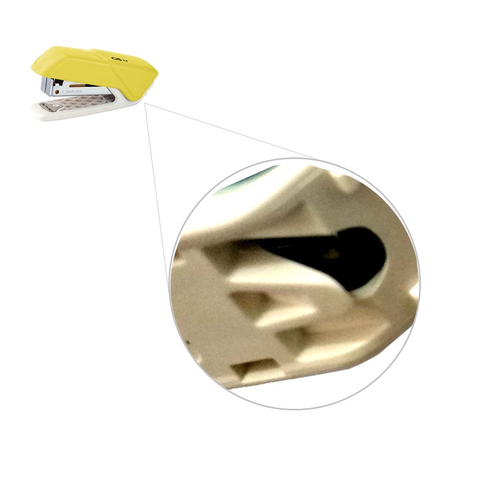 Grampeador Mini CIS 26/6 10 Folhas C-6 Amarelo