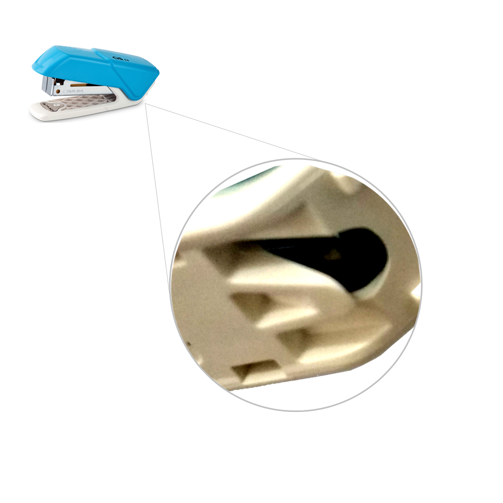 Grampeador Mini CIS 26/6 10 Folhas C-6 Azul