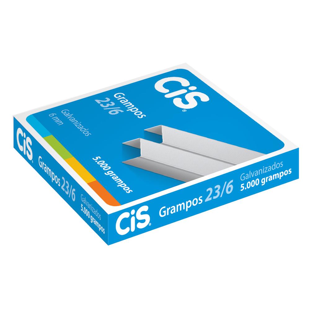 Grampo 23/6 CIS 5000 Grampos Galvanizado