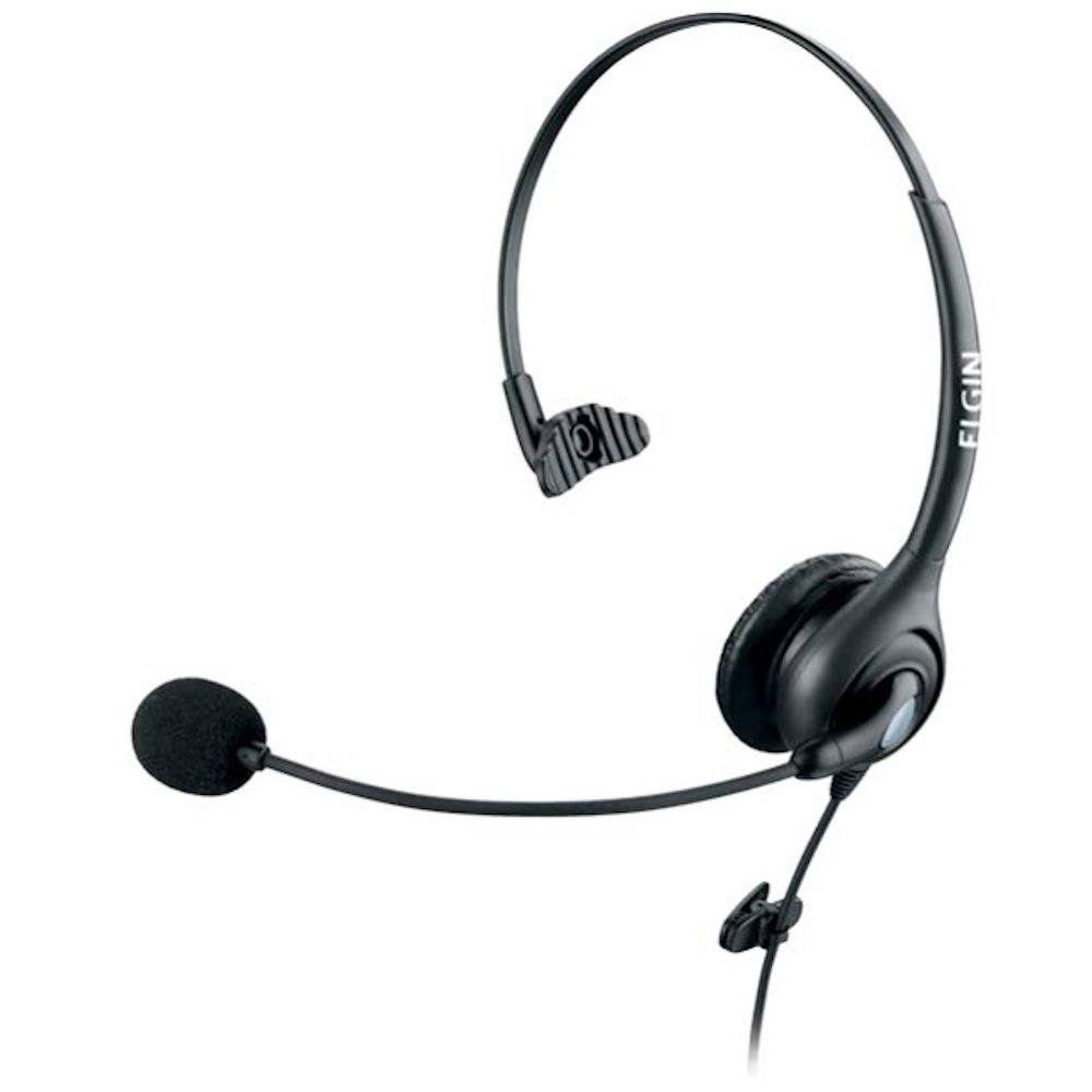 Headphone Elgin F11-1NSQD Haste Flexível Preto