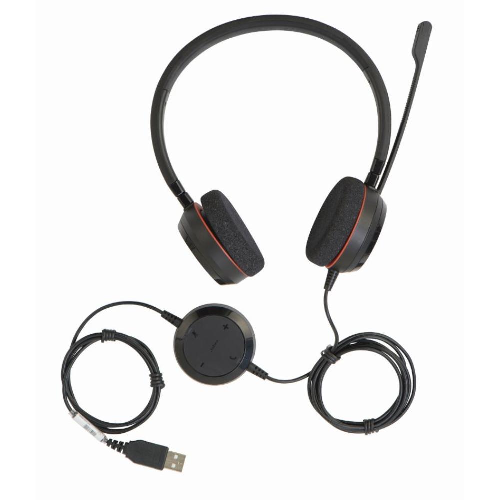 Headset Evolve 20 MS Duo USB Jabra 4999-823-109
