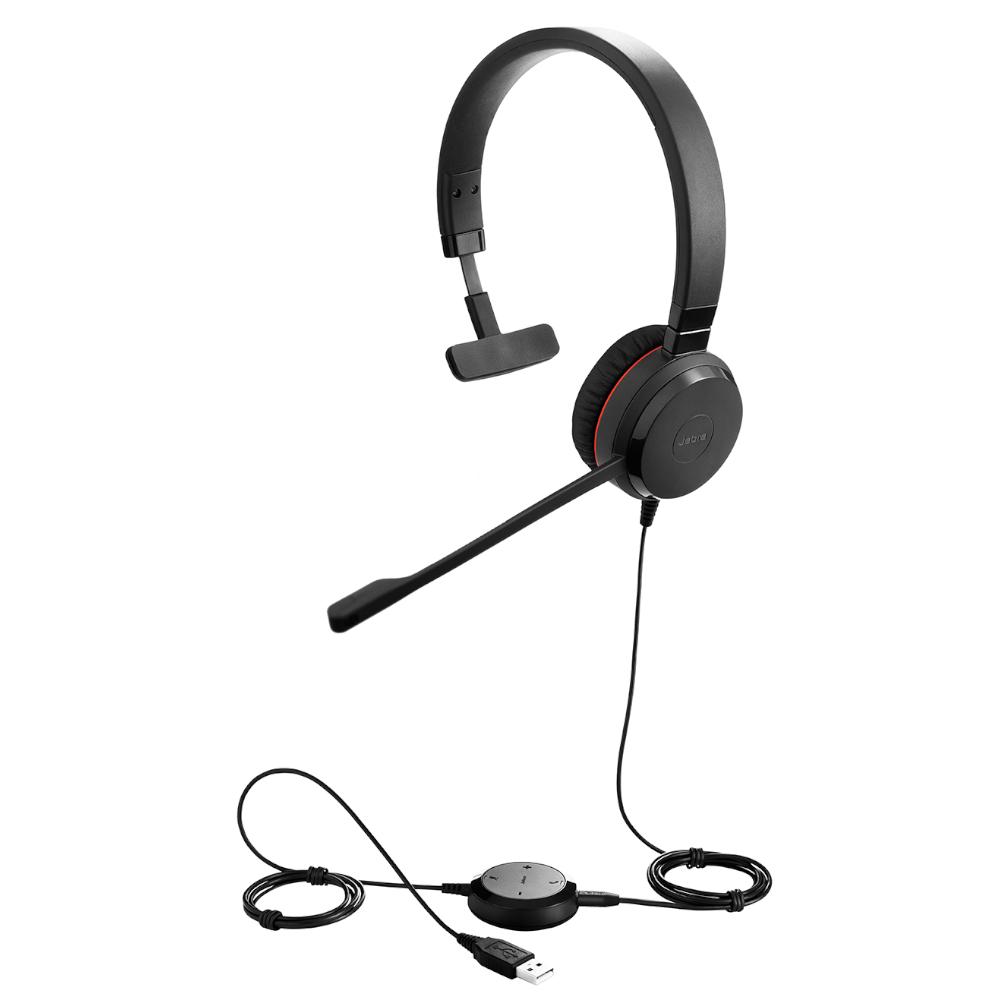 Headset Evolve 30 II MS Mono USB Jabra 5393-823-309