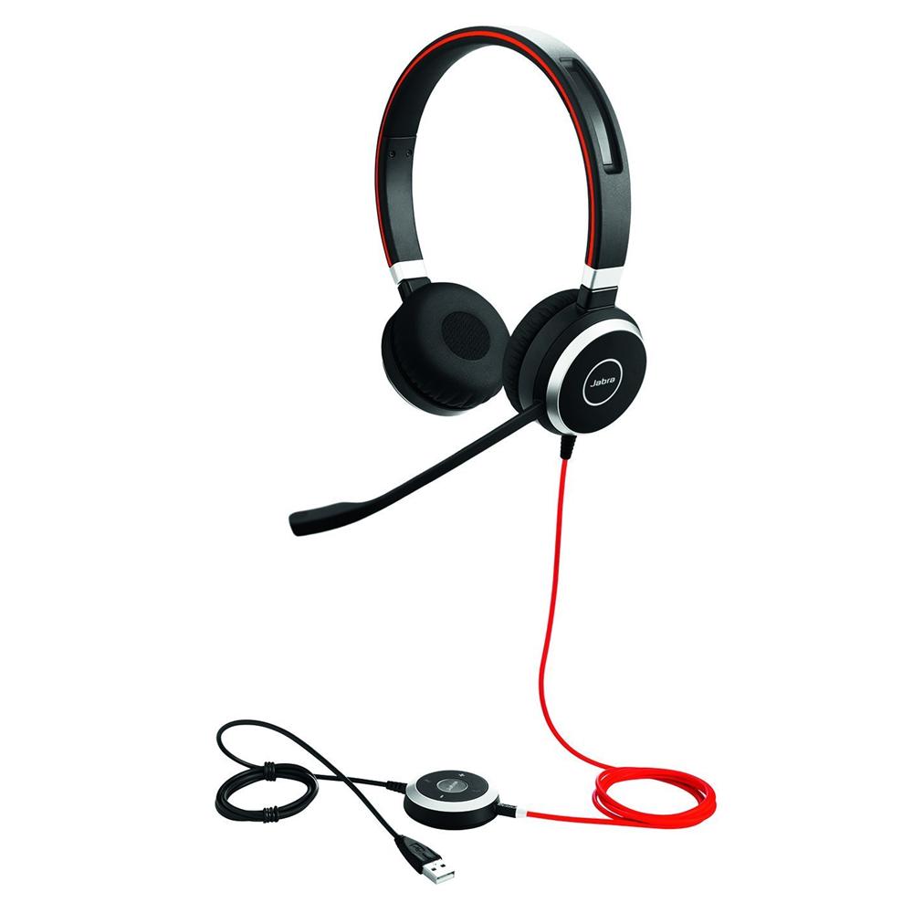 Headset Evolve 40 UC Duo USB Jabra 6399-829-209