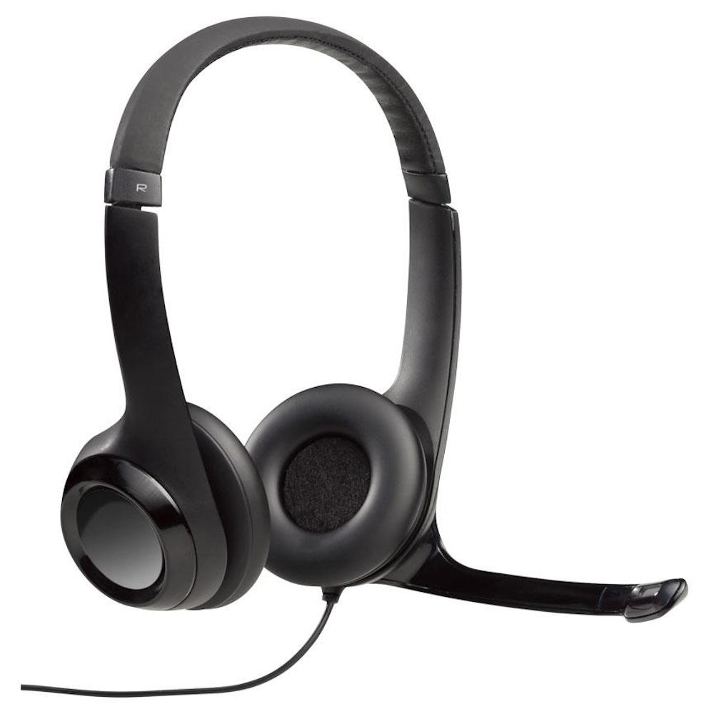 Headset Logitech USB Stéreo H390