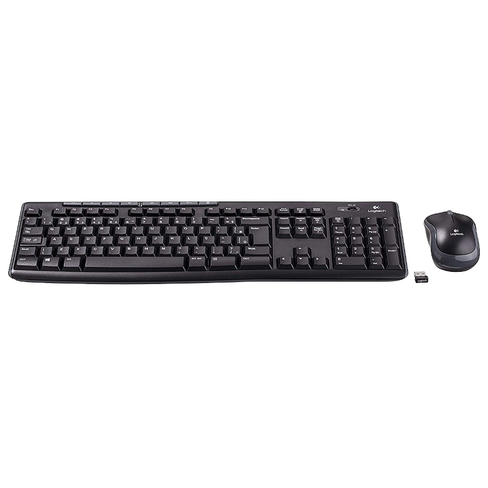 Kit Wireless Teclado e Mouse Logitech MK270