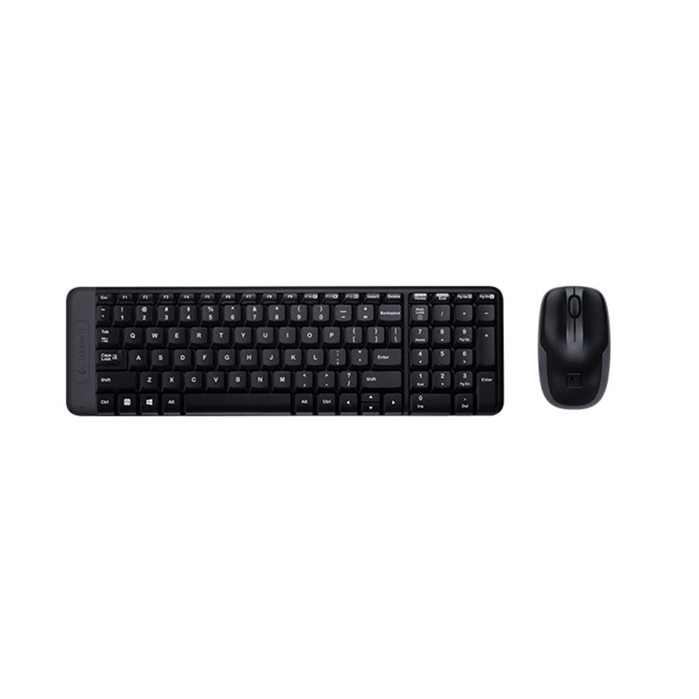 Kit Wireless Mouse/Teclado MK220 Logitech